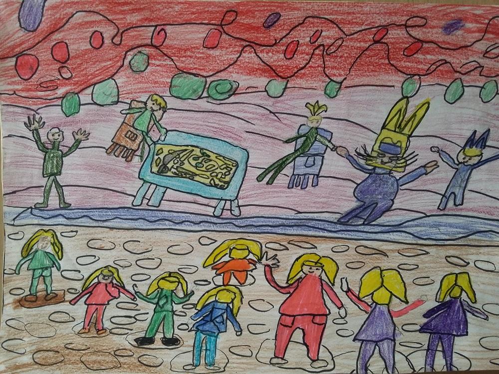 """Илия Ноколаев Ракитов, 10 г.  3 клас, ОУ """"Христо Ботев"""", с. Лопян, обл. София  – """"Детско парти"""""""