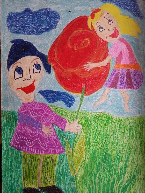 """Катерина Красимирова Балабанова, 7 клас, 13 г., СОУ """"Бачо Киро"""", гр. Летница"""