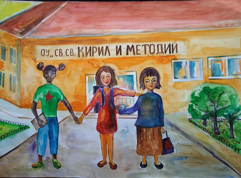"""Никита Тодорова Костова, 7 клас, 14 г., ОУ """"Св. Св. Кирил и Методий"""", гр. Ловеч"""