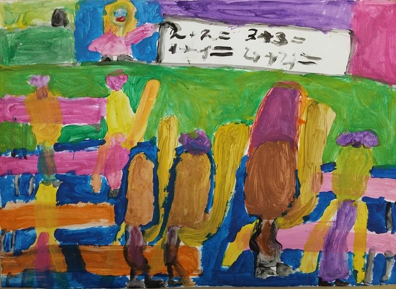 """Симона Христова,  7 год., 1 """"д"""" клас, СОУ """"Св. Климент Охридски"""", гр. Добрич"""
