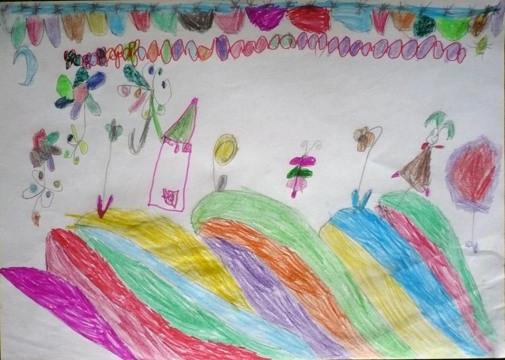 """Веска Христова,  7 г., 1 а клас, ОУ """"Отец Паисий"""", с. Сотиря, обл. Сливен"""