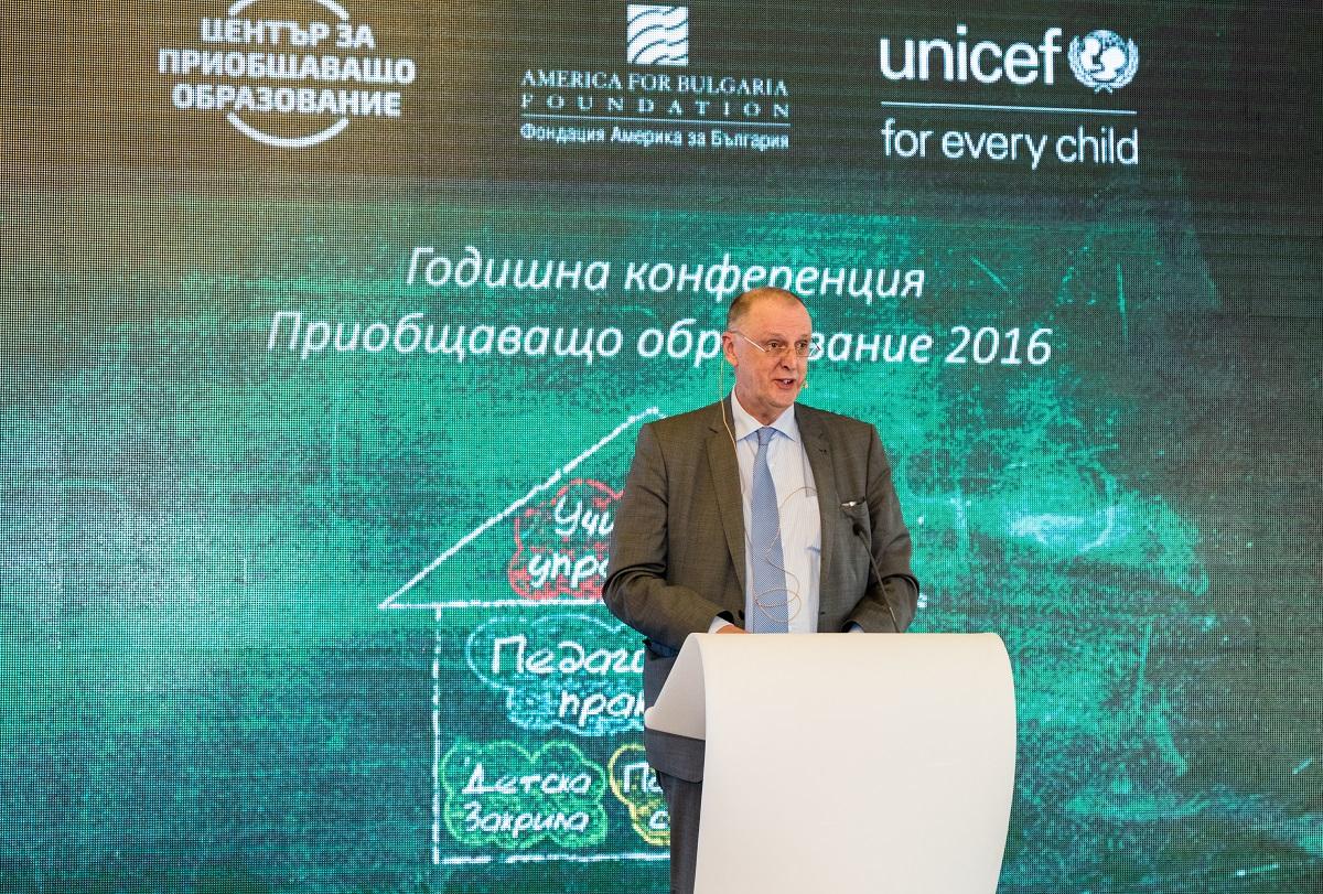 Кор Майер, директор на Европейската агенция за специални потребности и приобщаващо образование