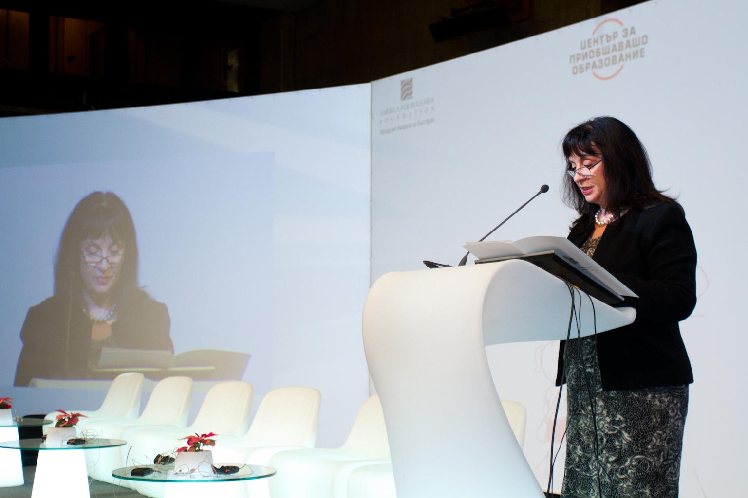 Ваня Кастрева, зам.-министър на образованието и науката
