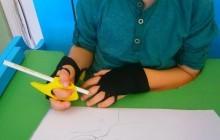 Нискотехнологични помощни средства за развиване на графични умения при деца с церебрална парализа и други неврологични заболявания